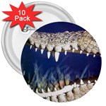 Croc 3  Button (10 pack)