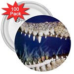 Croc 3  Button (100 pack)