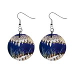 Croc 1  Button Earrings
