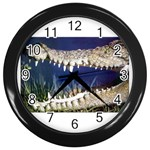 Croc Wall Clock (Black)