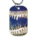 Croc Dog Tag (Two Sides)