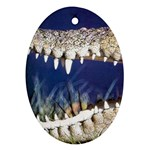 Croc Oval Ornament (Two Sides)