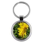 flowers_30 Key Chain (Round)
