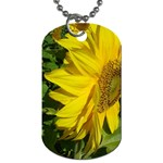 flowers_30 Dog Tag (One Side)
