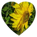 flowers_30 Jigsaw Puzzle (Heart)
