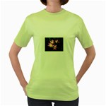 landat_02 Women s Green T-Shirt