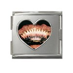 wallpaper_12492 Mega Link Heart Italian Charm (18mm)