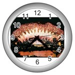 wallpaper_12492 Wall Clock (Silver)