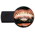wallpaper_12492 USB Flash Drive Round (4 GB)