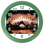 wallpaper_12492 Color Wall Clock