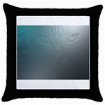 asja Throw Pillow Case (Black)