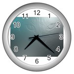 asja Wall Clock (Silver)