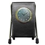asja Pen Holder Desk Clock
