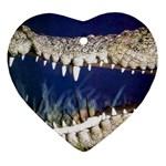 Croc Ornament (Heart)
