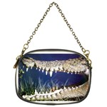 Croc Chain Purse (One Side)