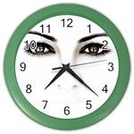 Eyes2 Color Wall Clock