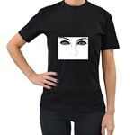 Eyes2 Women s Black T-Shirt