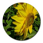 flowers_30 Round Mousepad