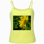 flowers_30 Yellow Spaghetti Tank