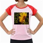 flowers_30 Women s Cap Sleeve T-Shirt
