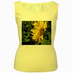 flowers_30 Women s Yellow Tank Top