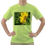 flowers_30 Green T-Shirt