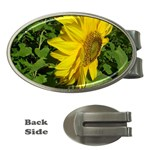 flowers_30 Money Clip (Oval)
