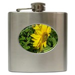 flowers_30 Hip Flask (6 oz)