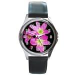 landat_01 Round Metal Watch