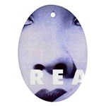 scream_5 Oval Ornament (Two Sides)