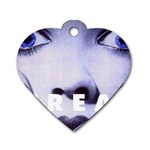 scream_5 Dog Tag Heart (Two Sides)