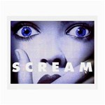 scream_5 Glasses Cloth (Small, Two Sides)