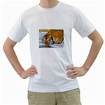 tiger_4 White T-Shirt