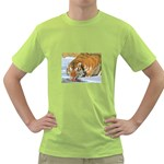 tiger_4 Green T-Shirt