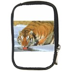 tiger_4 Compact Camera Leather Case