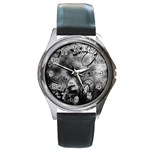 wallpaper_9813 Round Metal Watch