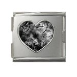 wallpaper_9813 Mega Link Heart Italian Charm (18mm)