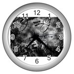 wallpaper_9813 Wall Clock (Silver)