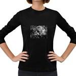 wallpaper_9813 Women s Long Sleeve Dark T-Shirt