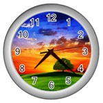 wallpaper_10251 Wall Clock (Silver)