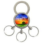 wallpaper_10251 3-Ring Key Chain