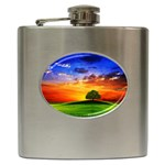 wallpaper_10251 Hip Flask (6 oz)