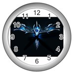 wallpaper_11150 Wall Clock (Silver)