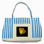 wallpaper_11217 Striped Blue Tote Bag