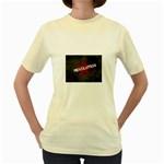 wallpaper_11805 Women s Yellow T-Shirt