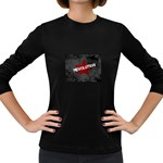 wallpaper_11805 Women s Long Sleeve Dark T-Shirt