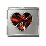 wallpaper_12280 Mega Link Heart Italian Charm (18mm)
