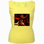 wallpaper_12280 Women s Yellow Tank Top