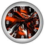 wallpaper_12280 Wall Clock (Silver)