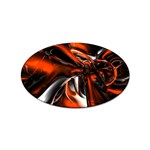 wallpaper_12280 Sticker Oval (100 pack)